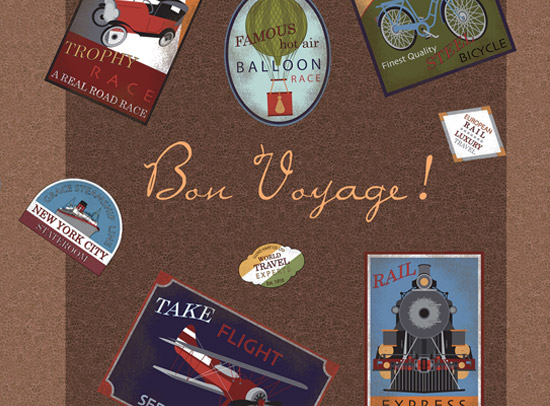 آلبوم کاغذ دیواری Bonvoyage