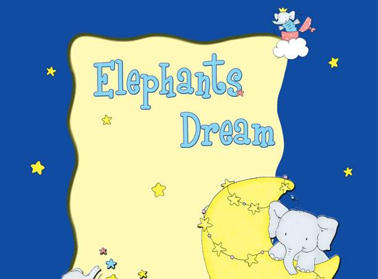 آلبوم کاغذ دیواری Elephants Dream