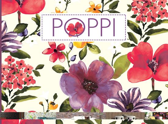 آلبوم کاغذ دیواری Poppi