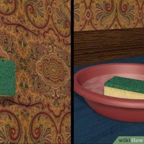 چگونه کاغذ دیواری را تمیز نماییم ؟