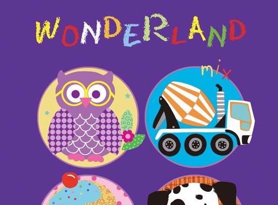 آلبوم کاغذ دیواری Wonder Land