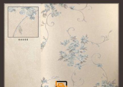 کاغذ-دیواری-گل-ریز-آبی-اکلیلی