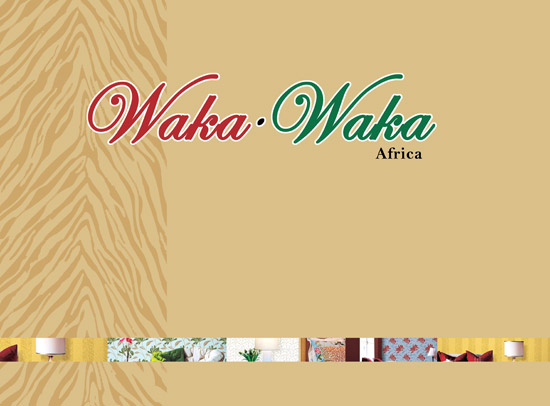 آلبوم کاغذ دیواری Waka Waka