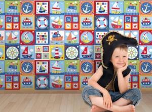کاغذ دیواری دکوراسیون اتاق کودک